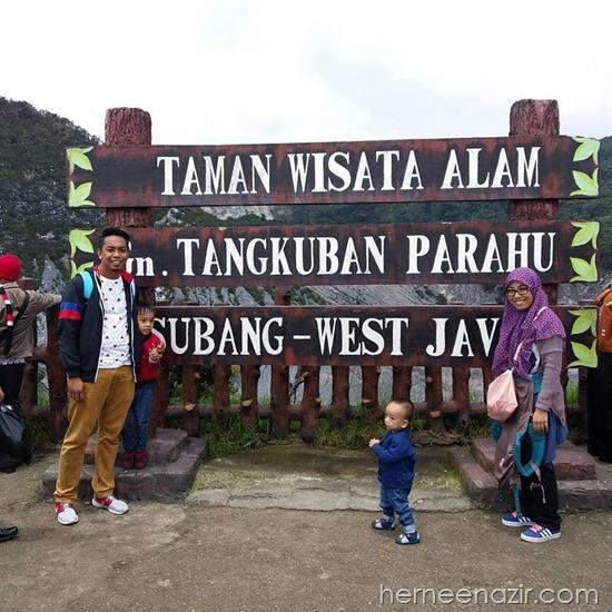 Travelog Bandung–Taman Wisata Alam Tangkuban Perahu Subang West Java