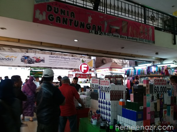 Travelog Bandung | Pasar Baru Trade Center Bandung