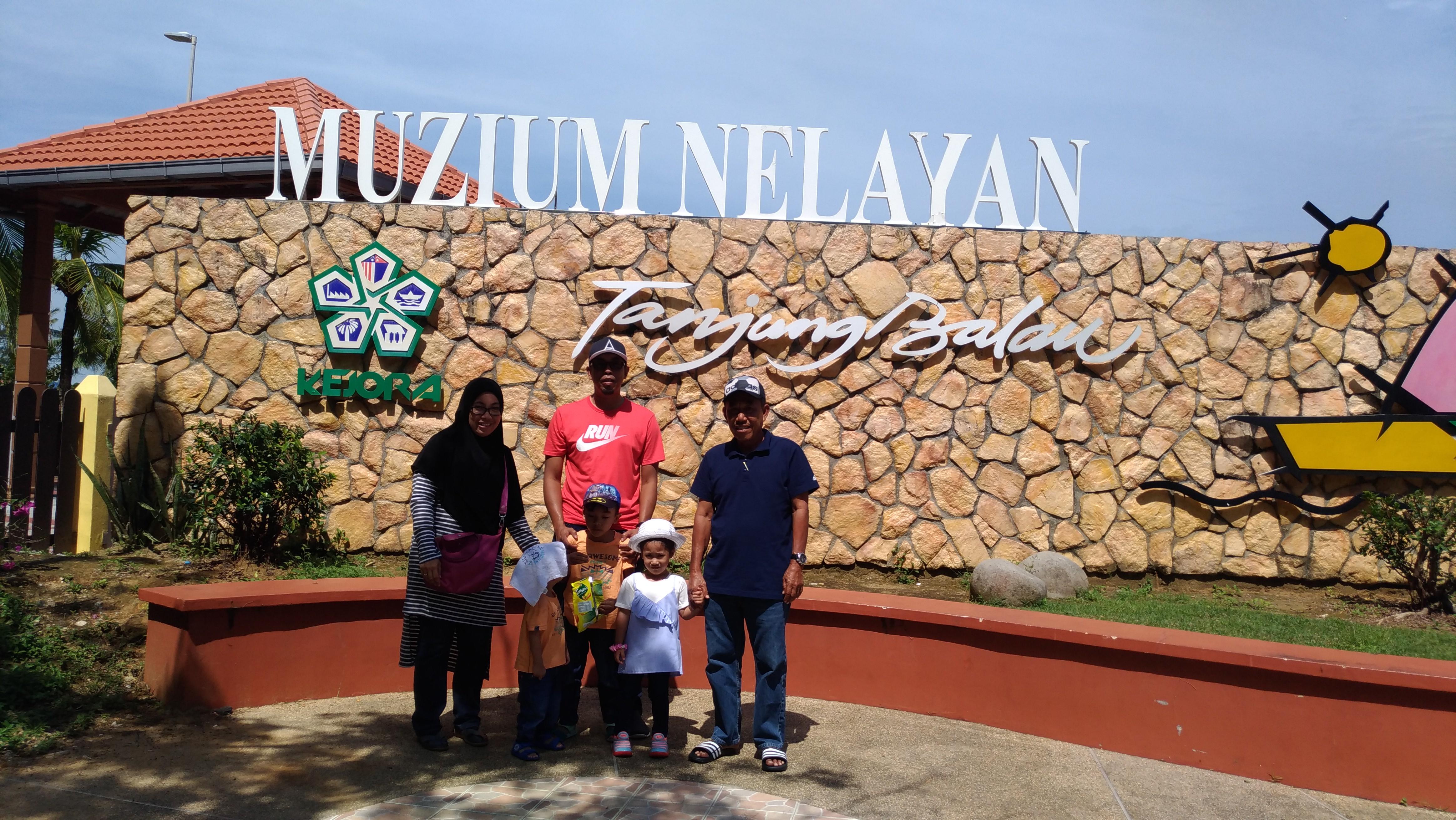 The Ilhams & Mak Wee Melawat Muzium Nelayan Tanjung Balau Kota Tinggi