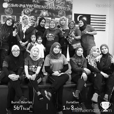 Aerodance & Zumba Class Dewan Desa Paya Mengkuang – 22/4/18