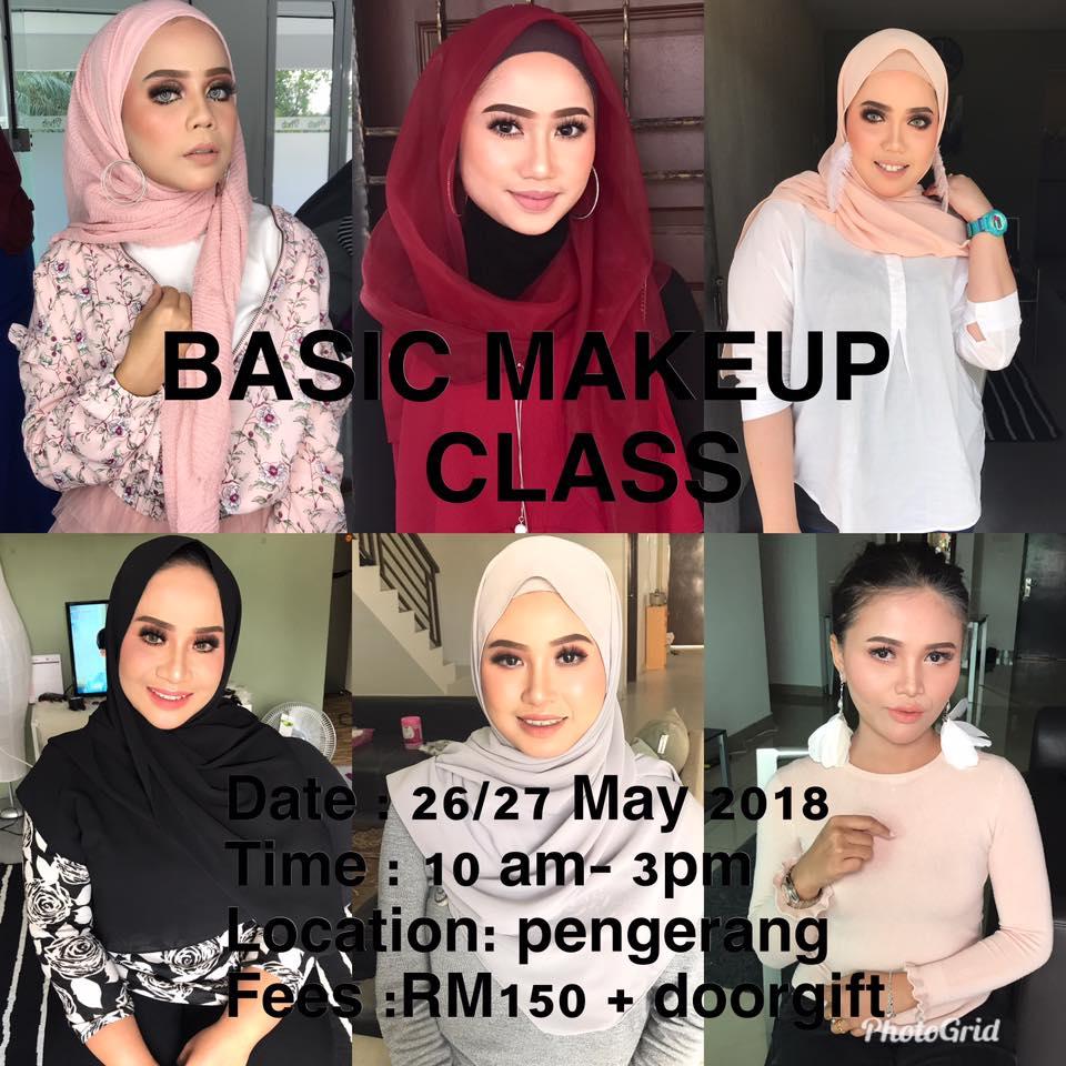 Basic Makeup Class Raya