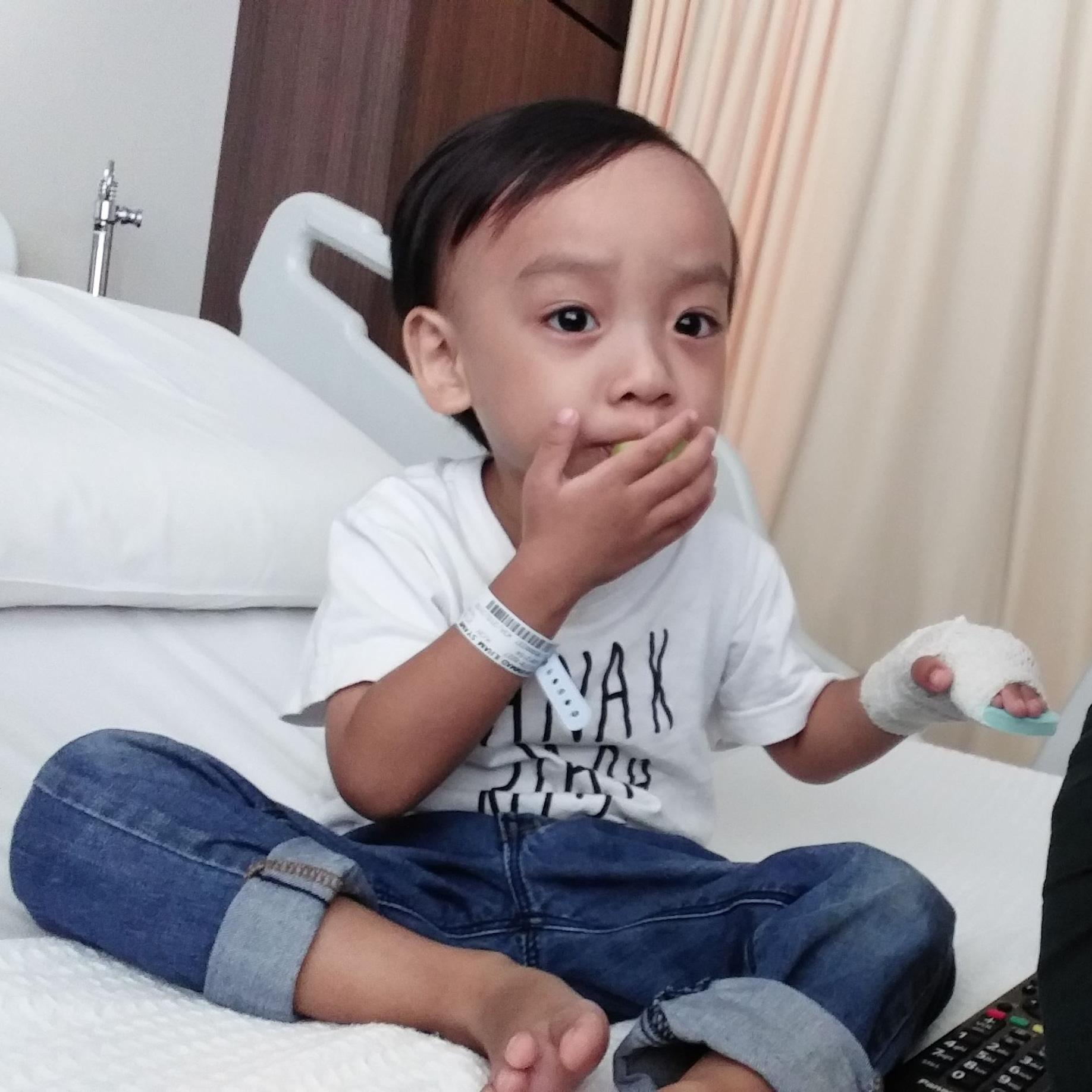 Syamil Warded at Gleneagles Medini Hospital (14 – 17 Mei 2018)