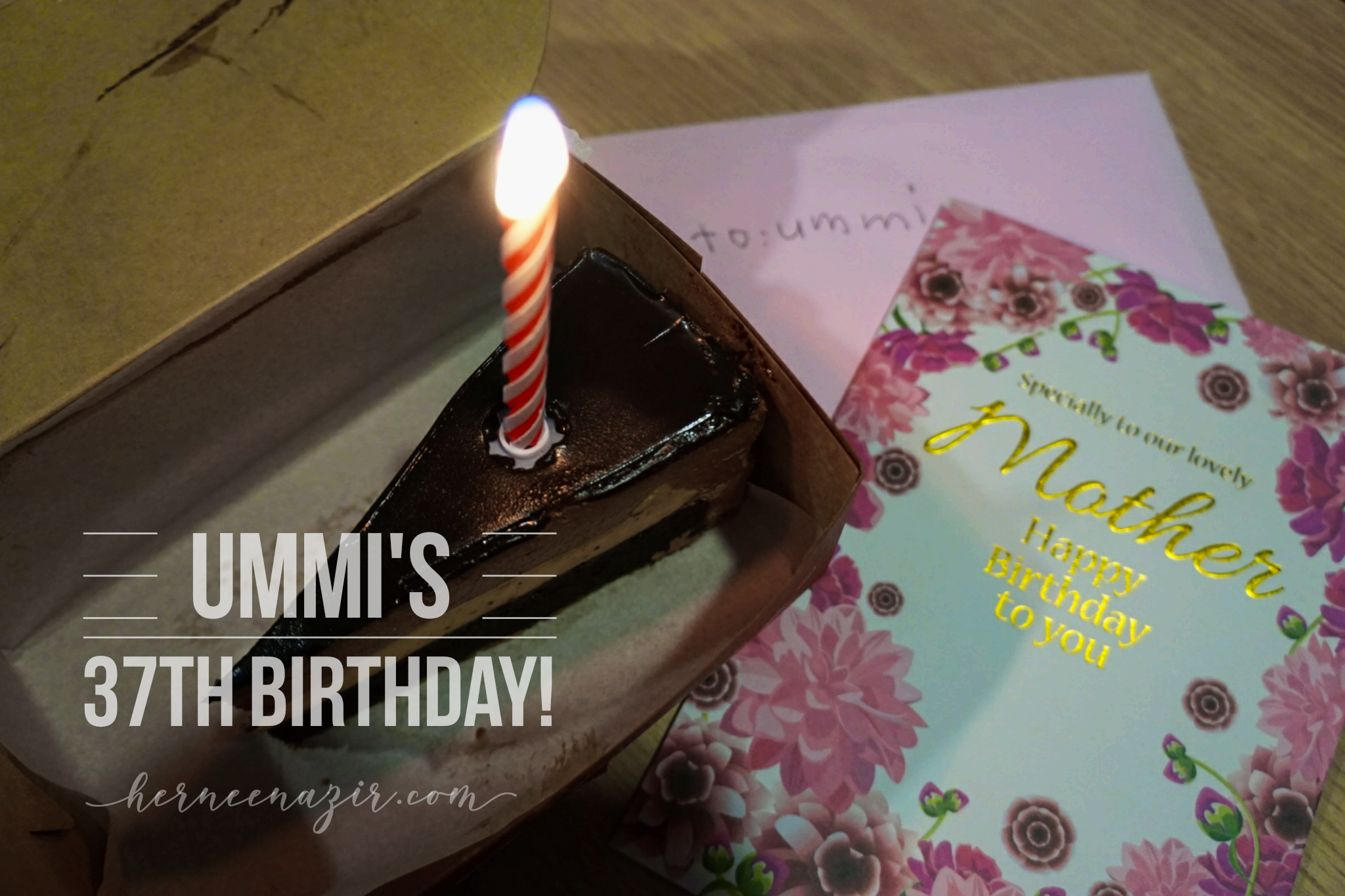 Ummi Ilham's 37 Years Journey of Life!
