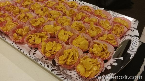 Projek Kuih Raya The Ilhams | Cornflakes Madu Giant 2 Seringgit