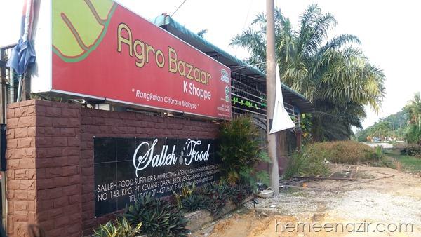 Shopping Kerepek & Kuih Raya di Salleh Food
