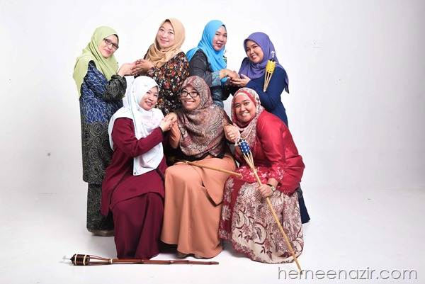 Photoshoot Whitestudio Raya JDT Blogger di The Empire Studio JB