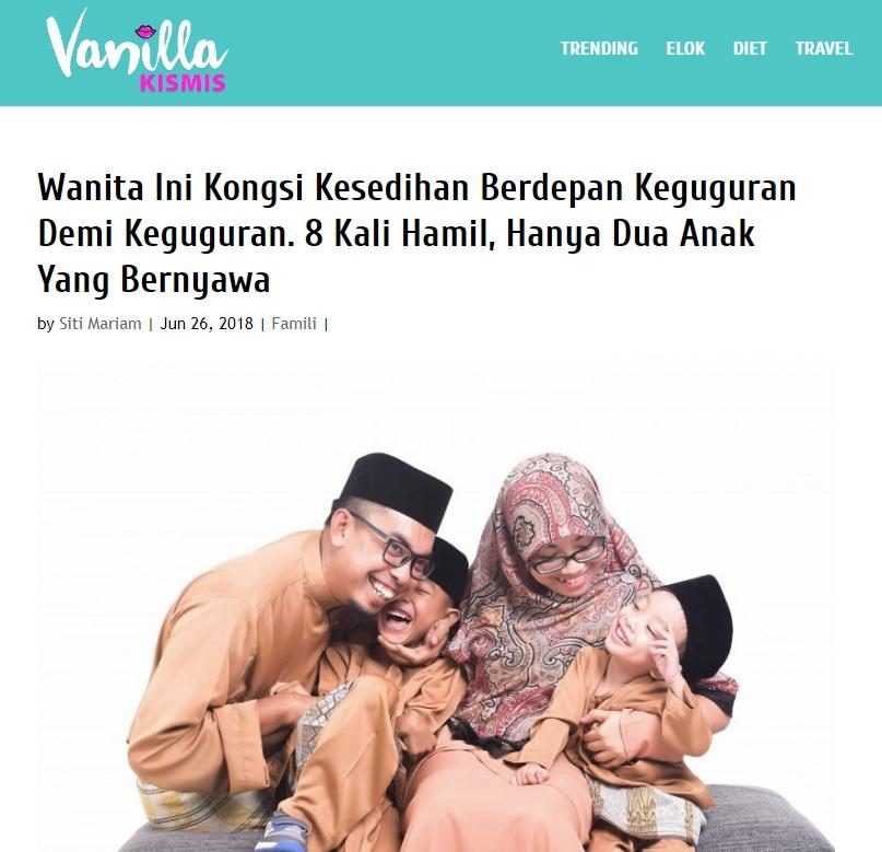 Jom Baca Perkongsian Ummi Ilhams di Vanilla Kismis