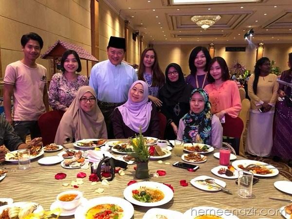 """Team JDT Blogger di Ramadhan Buffet """"Warisan Sajian Ibunda"""" Berjaya Waterfront JB"""