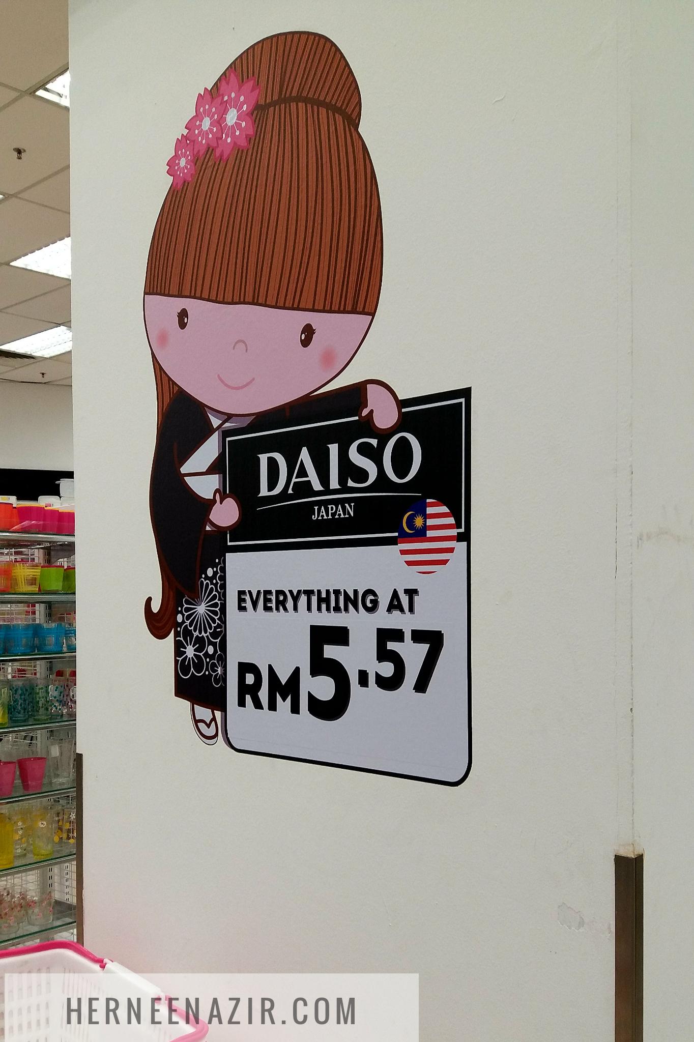 Daiso AEON Bukit Indah Kembali Lagi!
