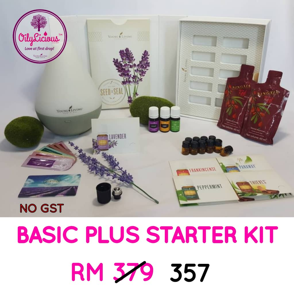 Young Living Oil - Basic Plus Starter Kit