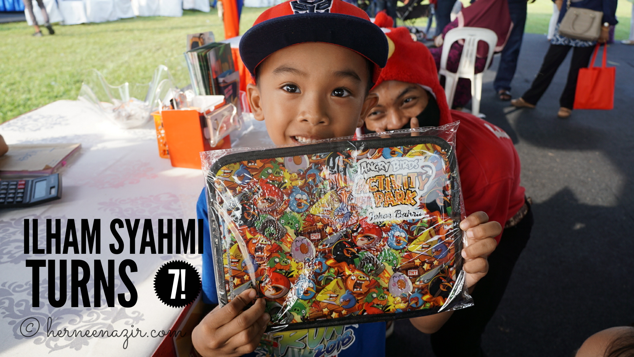 Ilham Syahmi Turns 7! (14 July 2018)