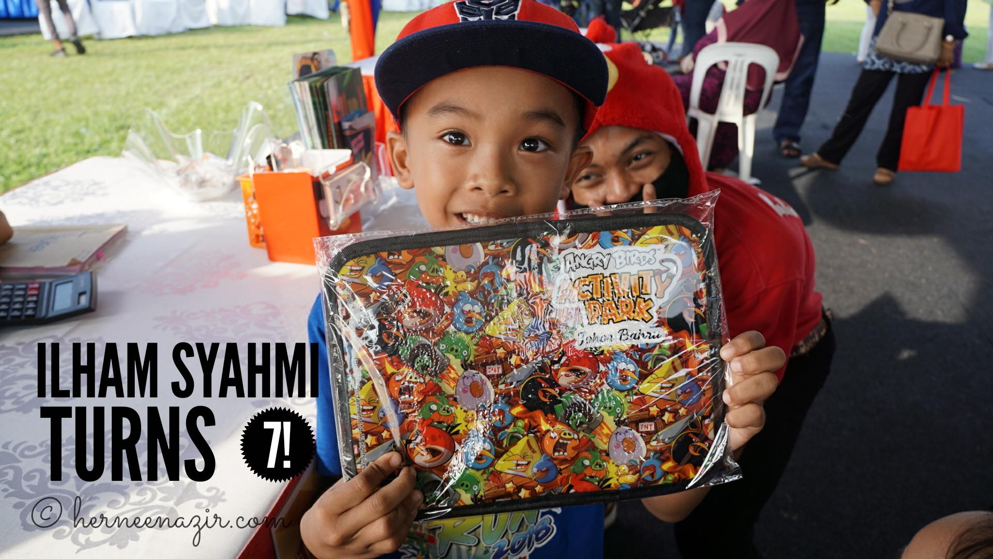 Ilham Syahmi Turns 7! (14 July 2018)