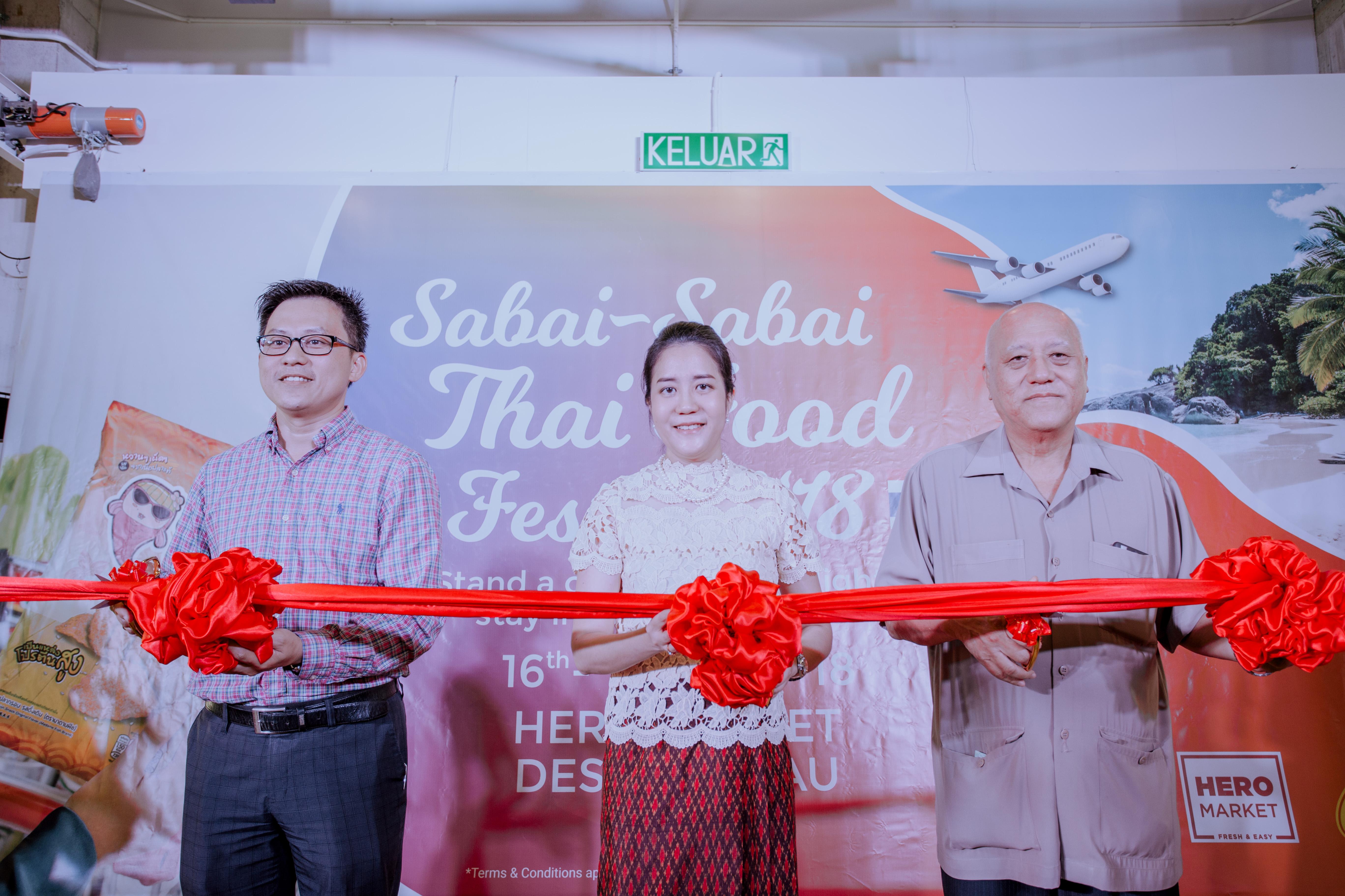 """Pameran Yang Terbaik Dari Thailand Di """"Pesta Makanan Thai Sabai Sabai 2018"""""""
