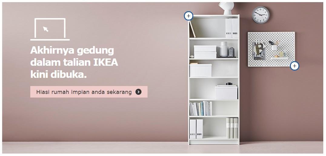 Membeli-belah Lebih Mudah Secara Online di IKEA.my