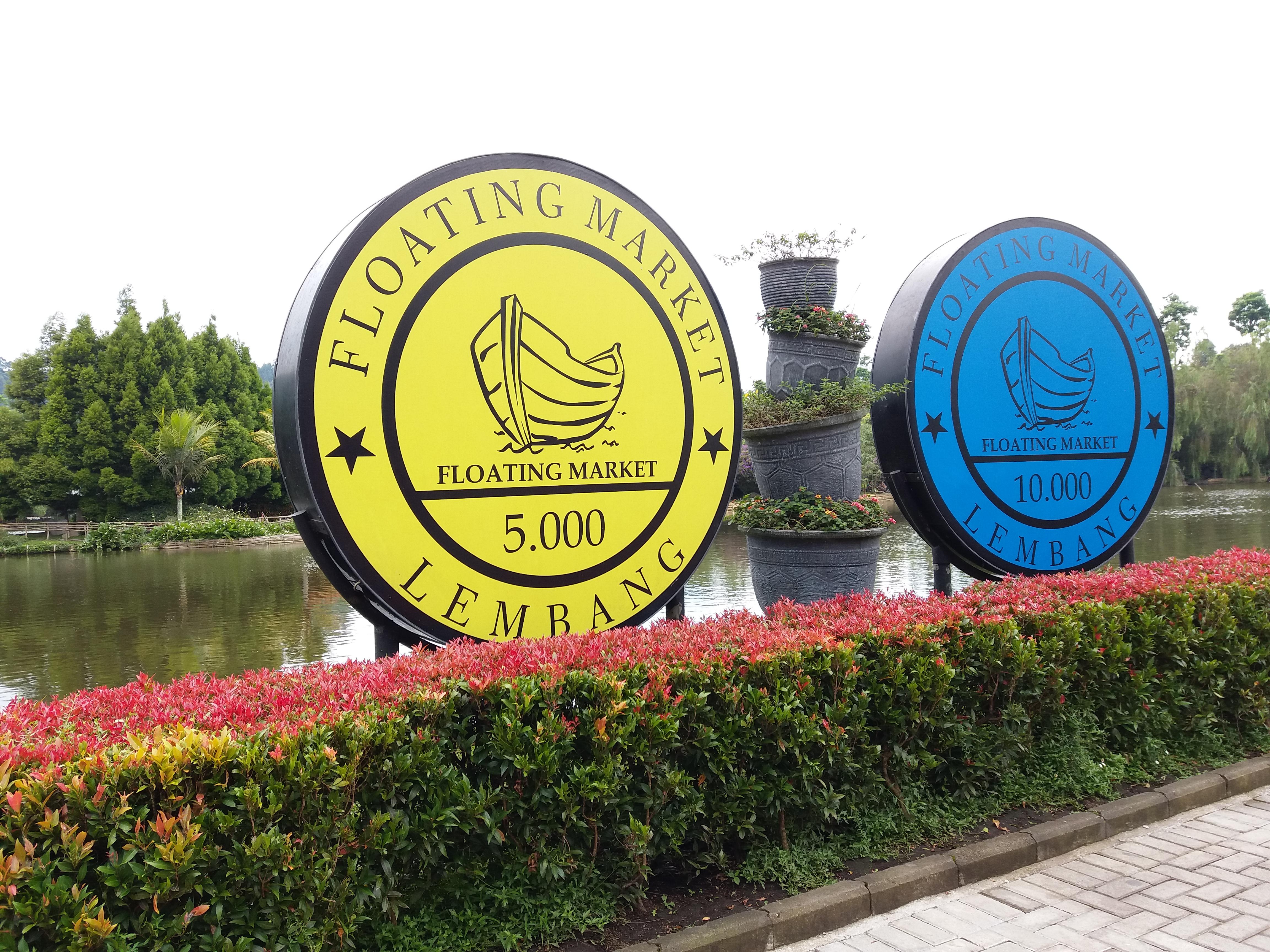 Travelog Bandung | Floating Market Lembang
