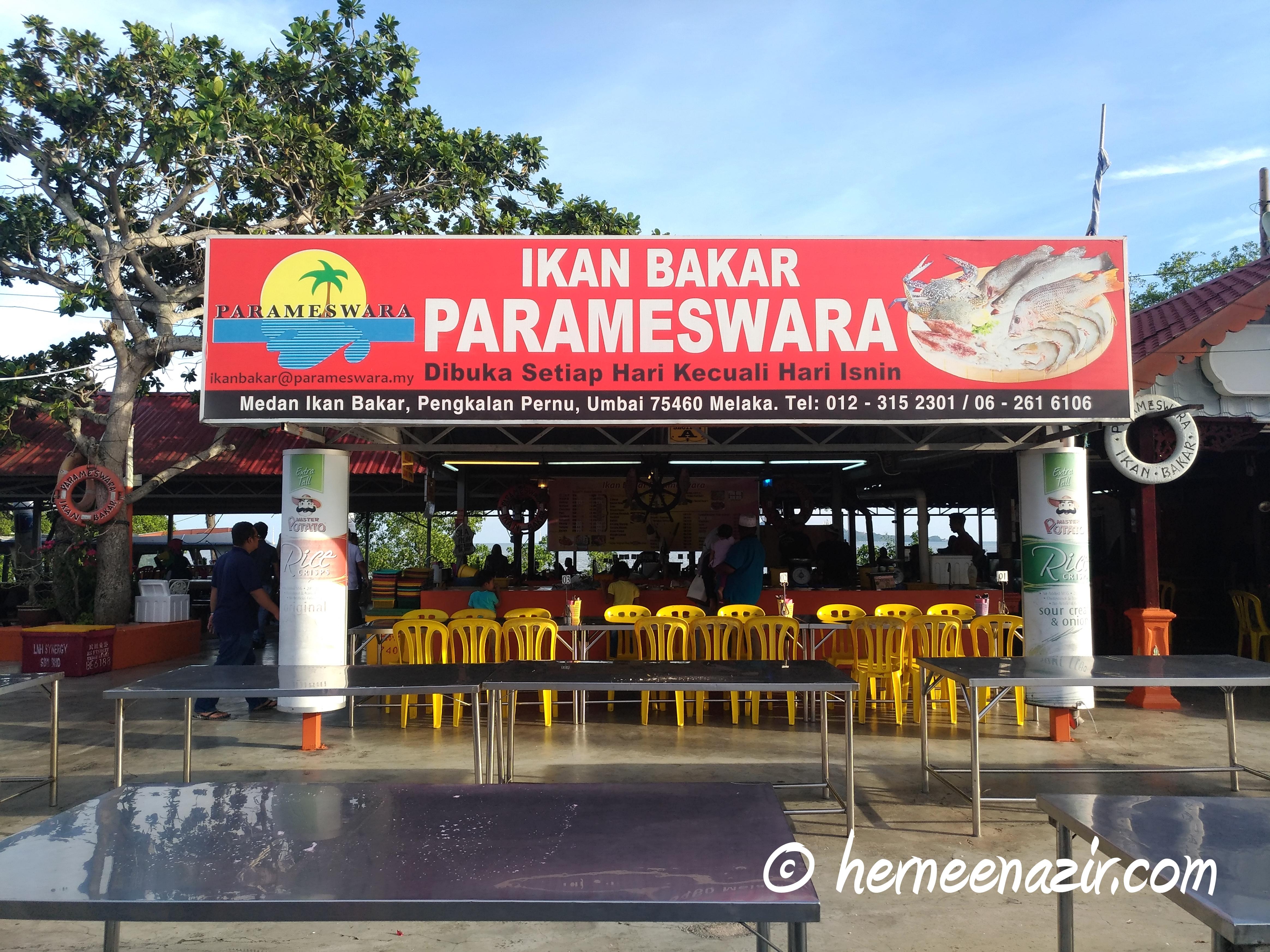 Makan-makan di Ikan Bakar Parameswara, Medan Ikan Bakar Pernu