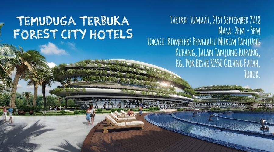 Temuduga Terbuka Forest City Hotels – 21 Sept 2018 @ Kompleks Penghulu Mukim Tanjung  Kupang