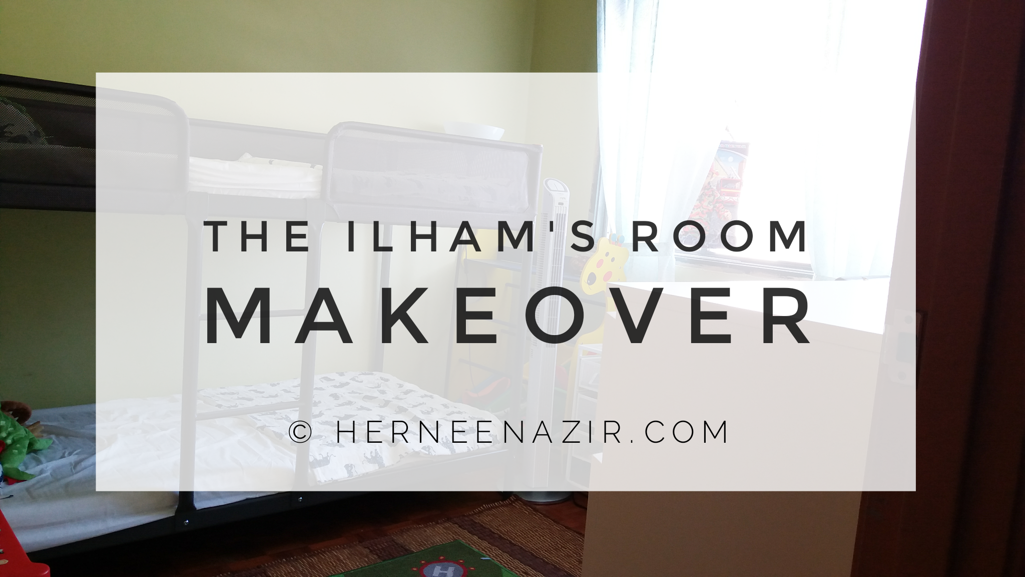 Dekorasi | The Ilham's Room Makeover