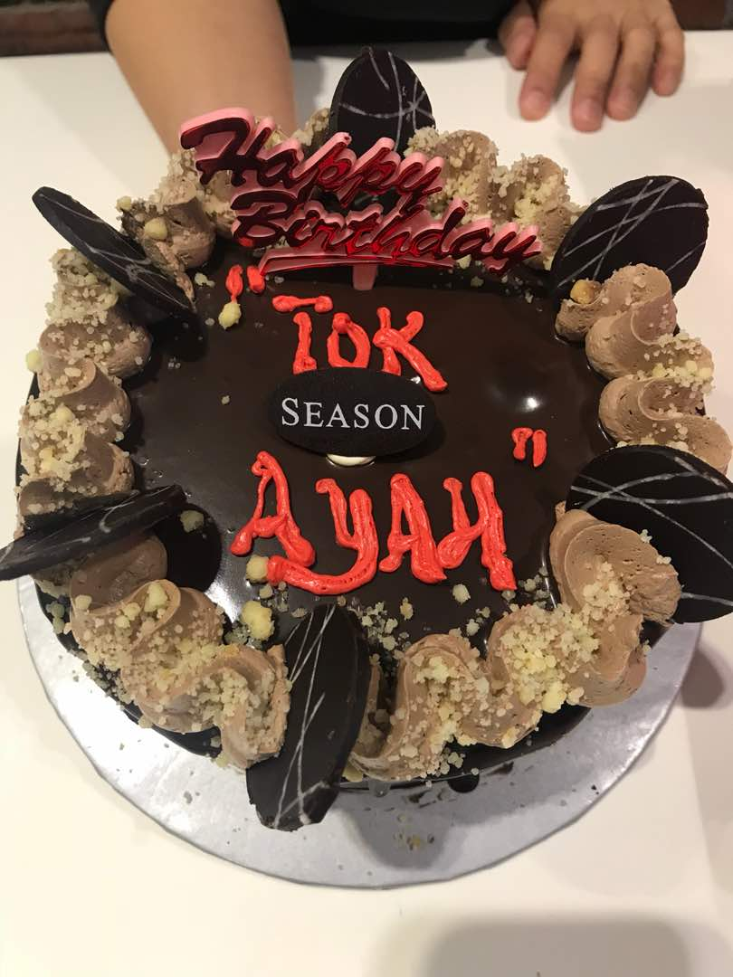 Tok Ayah's 59th Birthday Celebration – 10 Okt 2018 @ Restoran Saujana Seafood