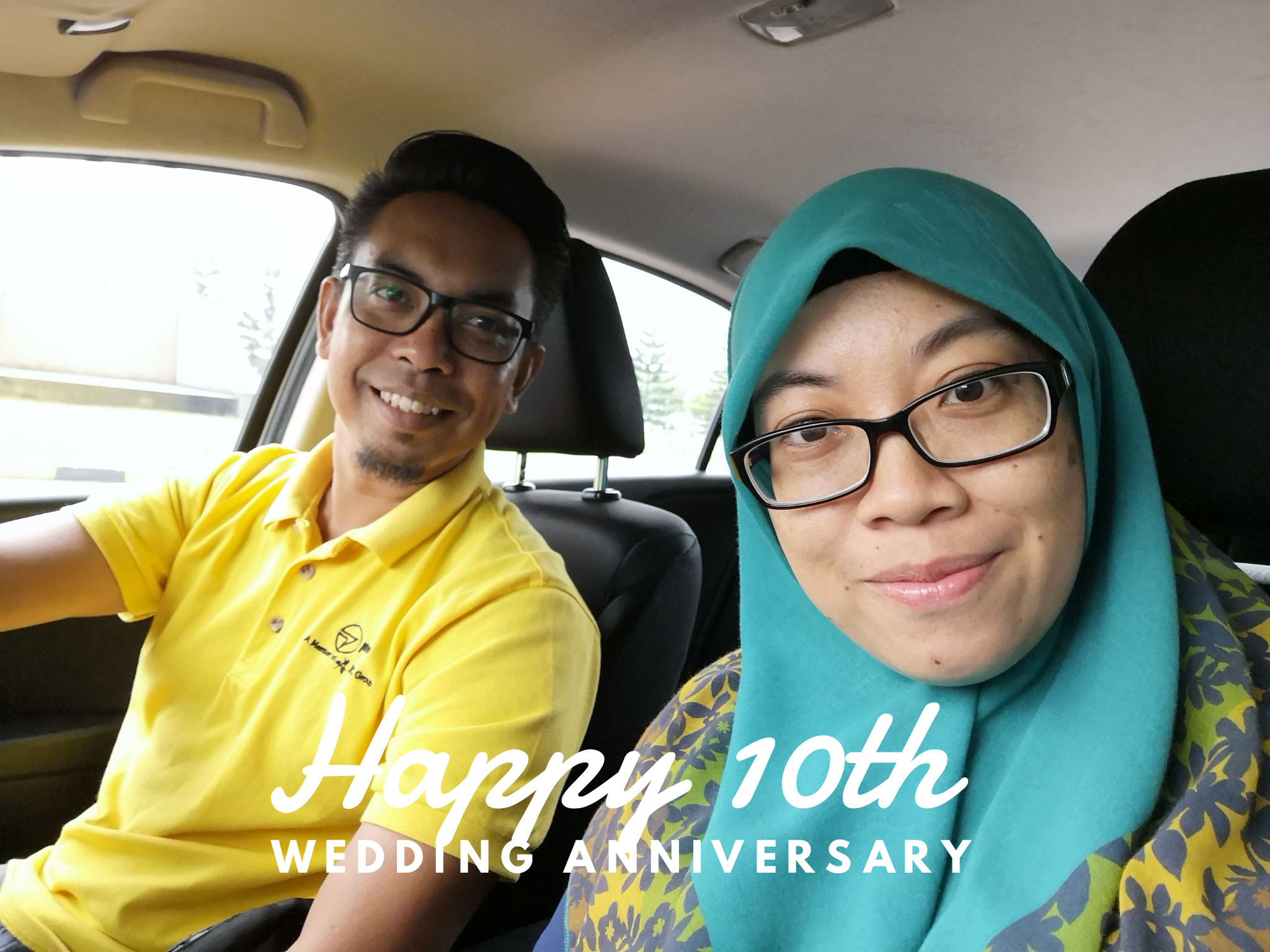Our 10th Wedding Anniversary – 181018