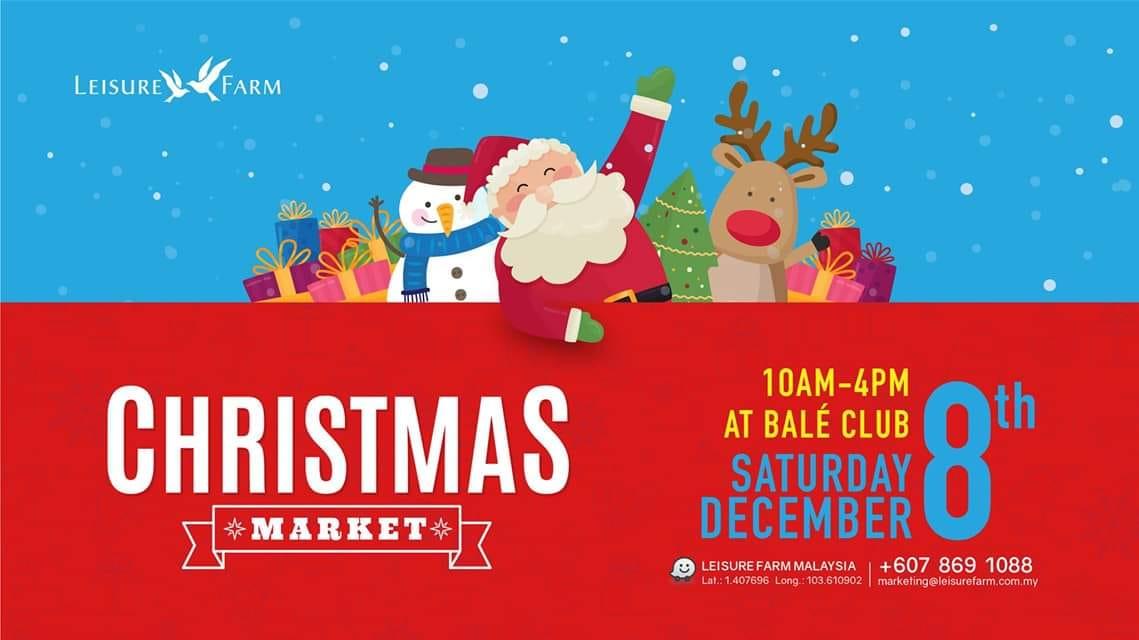 christmas market leisure farm