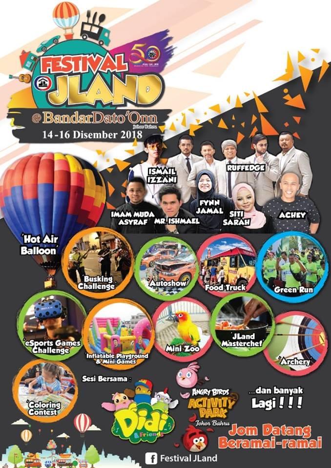 festival JLand bandar dato' onn