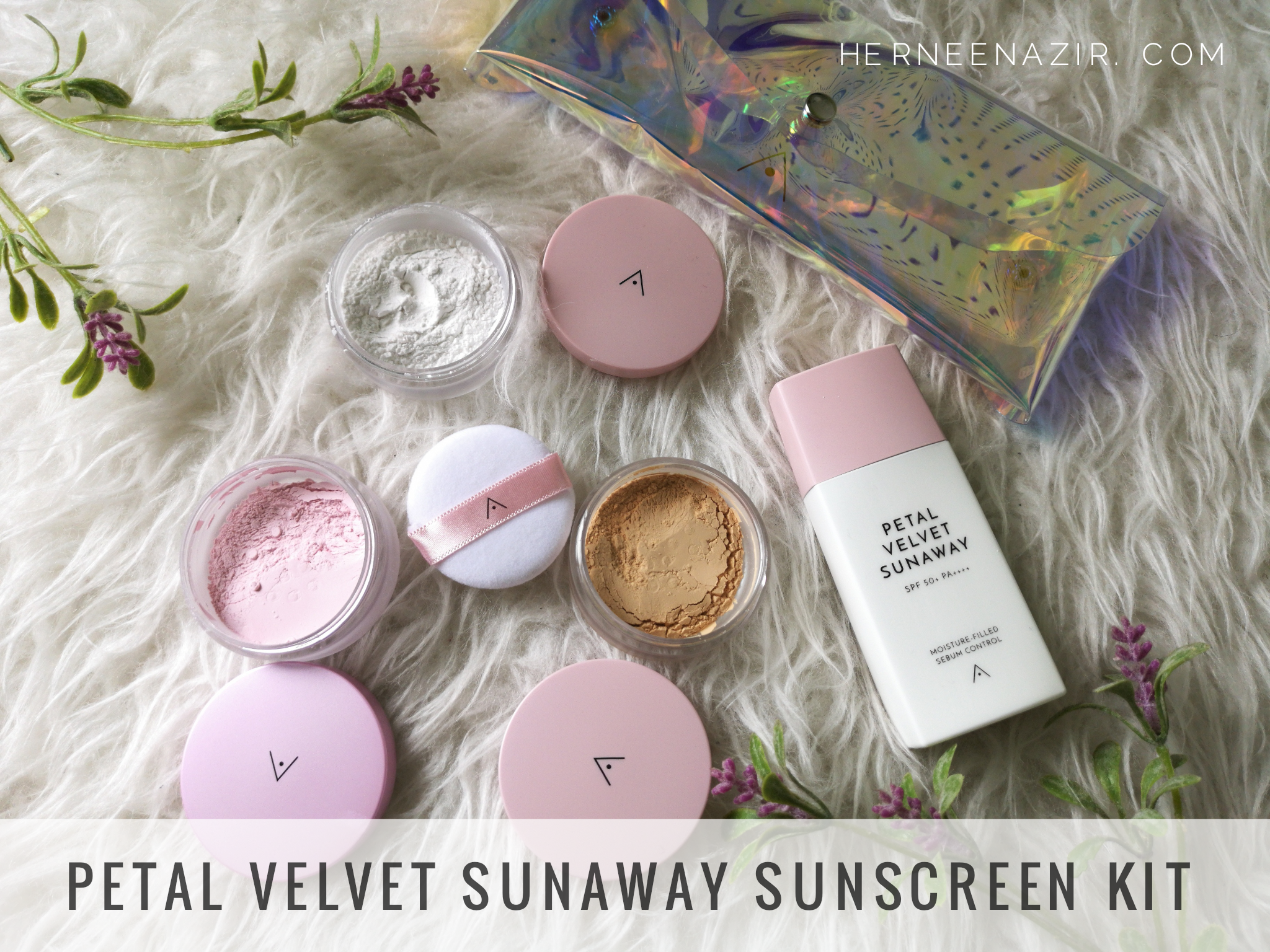 Althea Petal Velvet Sunaway Sunscreen Kit