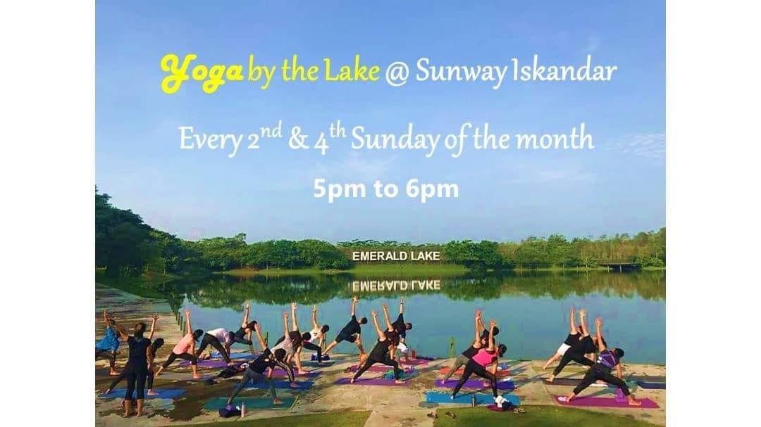 yoga by the lake sunway iskandar