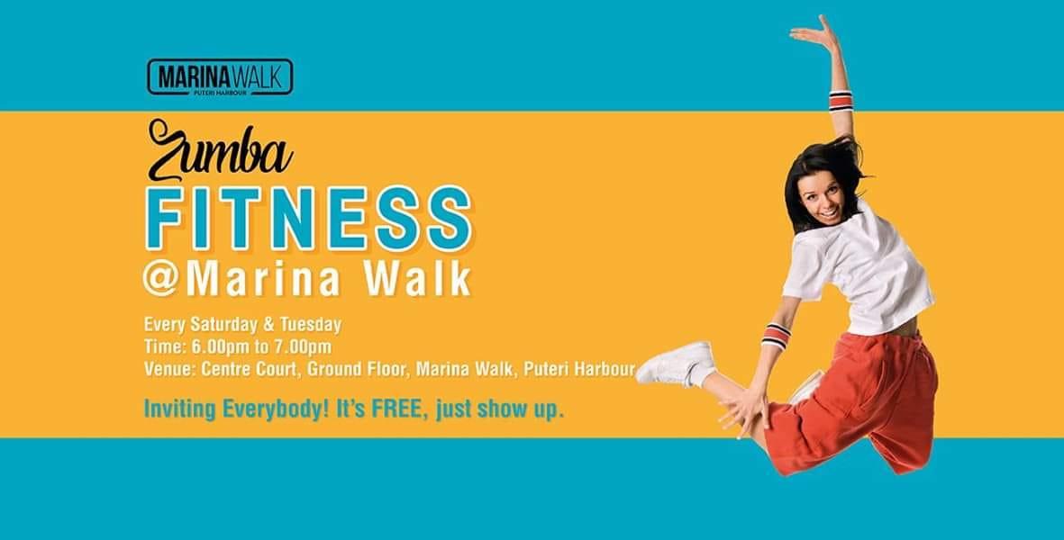 zumba fitness marina walk