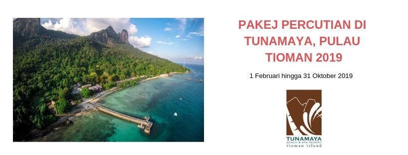 Pakej Lengkap Percutian di Tunamaya Beach & Spa Resort Pulai Tioman