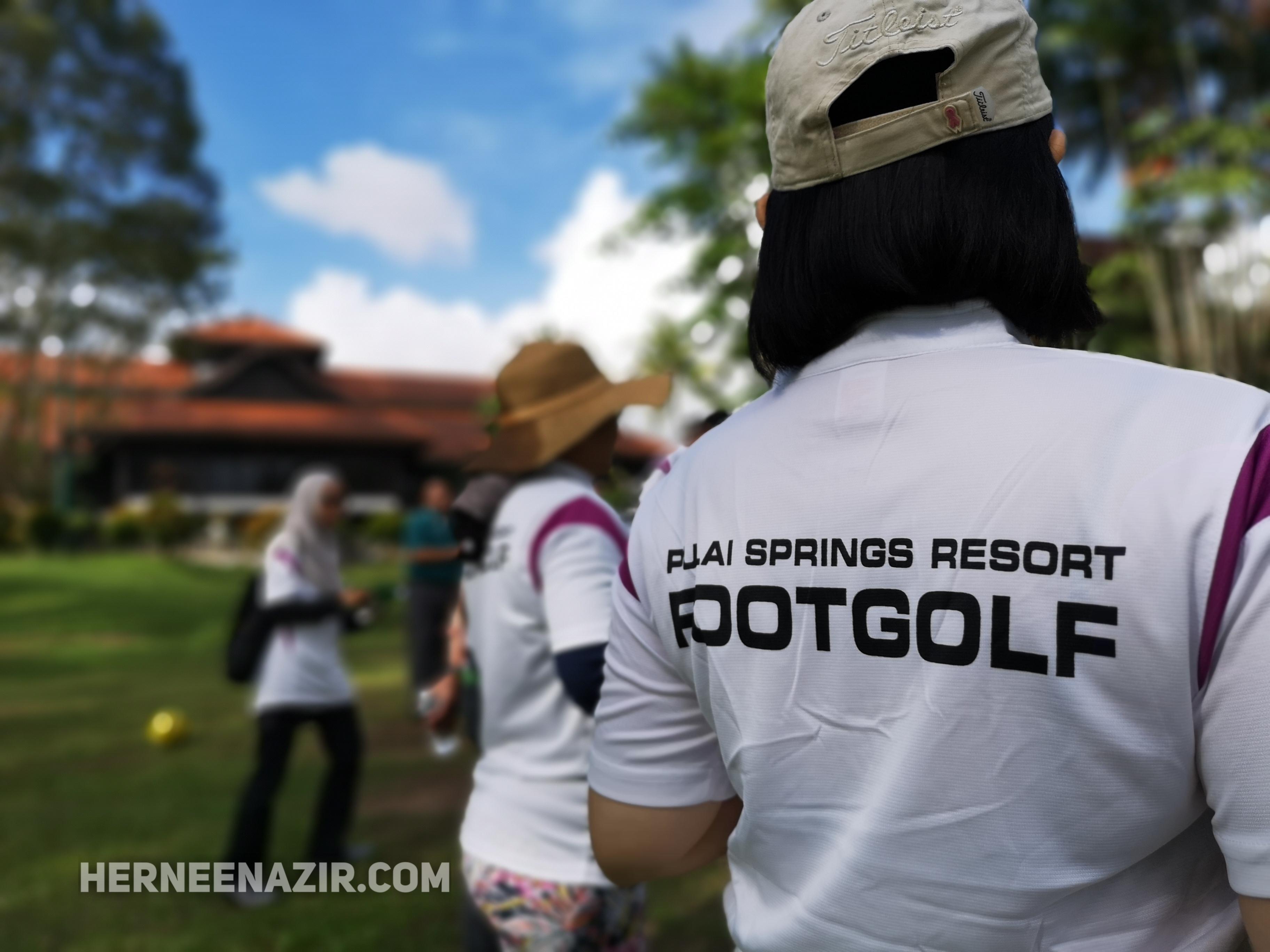FootGolf Pertama di Johor Bahru Hanya di Pulai Springs Resort