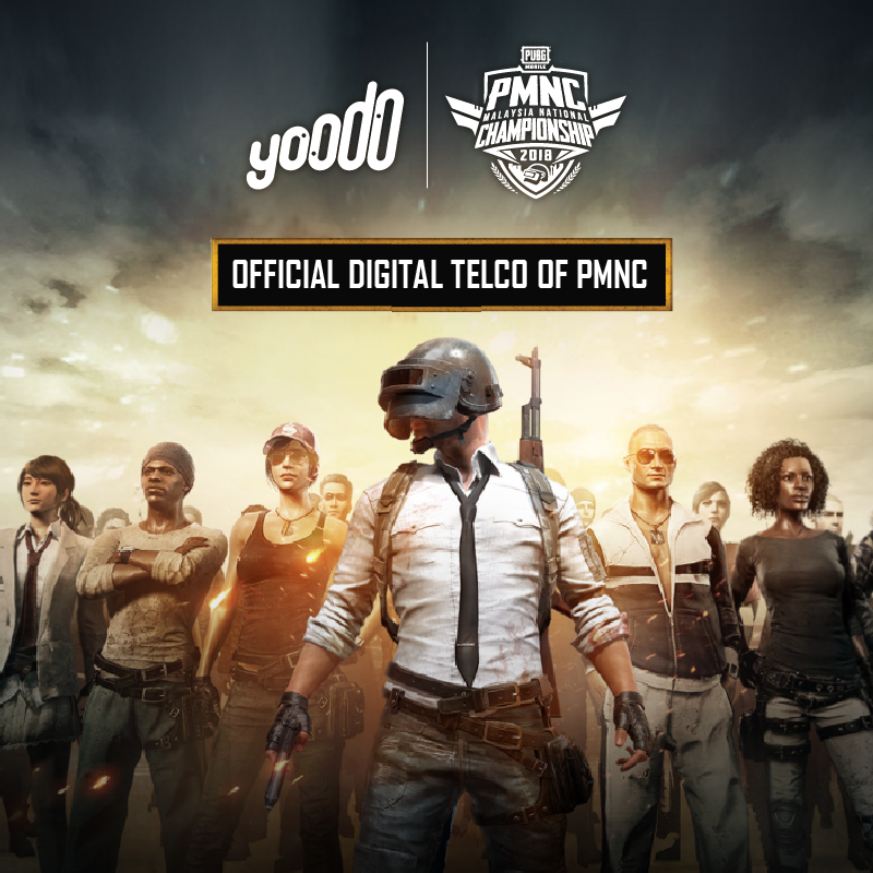 Malaysia's First Official PUBG MOBILE National Championship (PMNC) 2018 – Yoodo