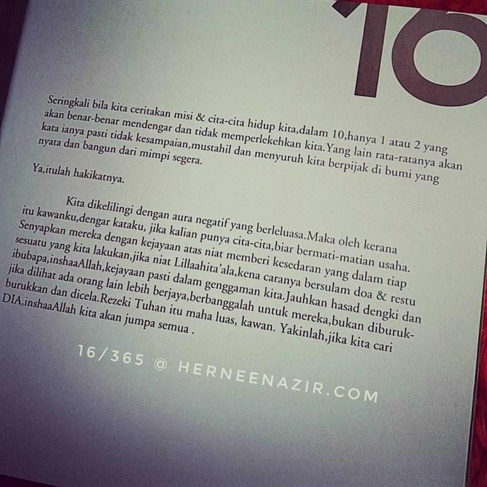 Motivasi | 16/365 by Dr. Anwar Fazal