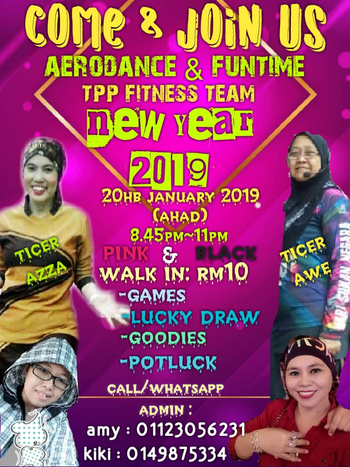 Aerodance & Funtime – Pasir Gudang (20 Jan 2019)