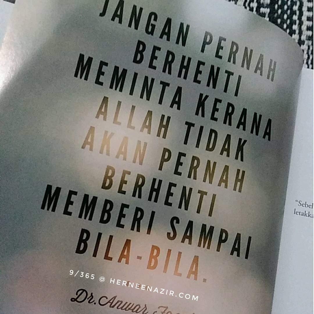 Motivasi | 9/365 by Dr. Anwar Fazal