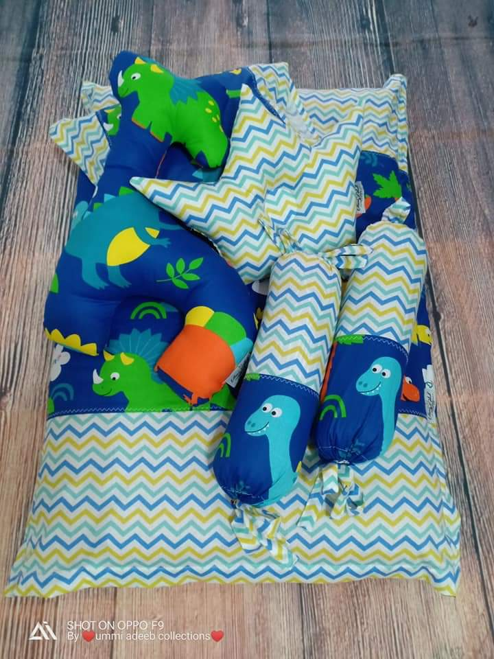 Set Tilam Bayi & Bedung Cotton Dari Ummi Adeeb Collections