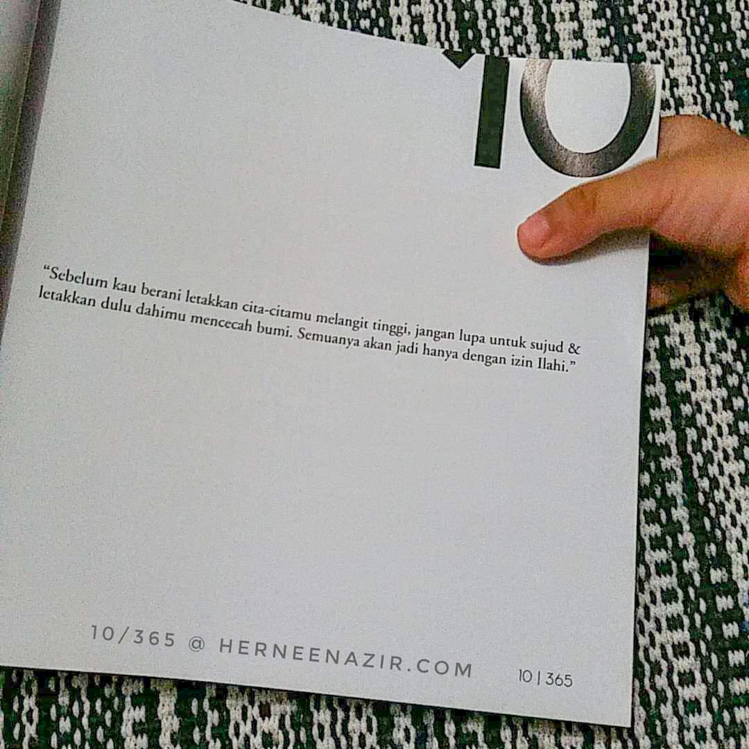 Motivasi | 10/365 by Dr. Anwar Fazal
