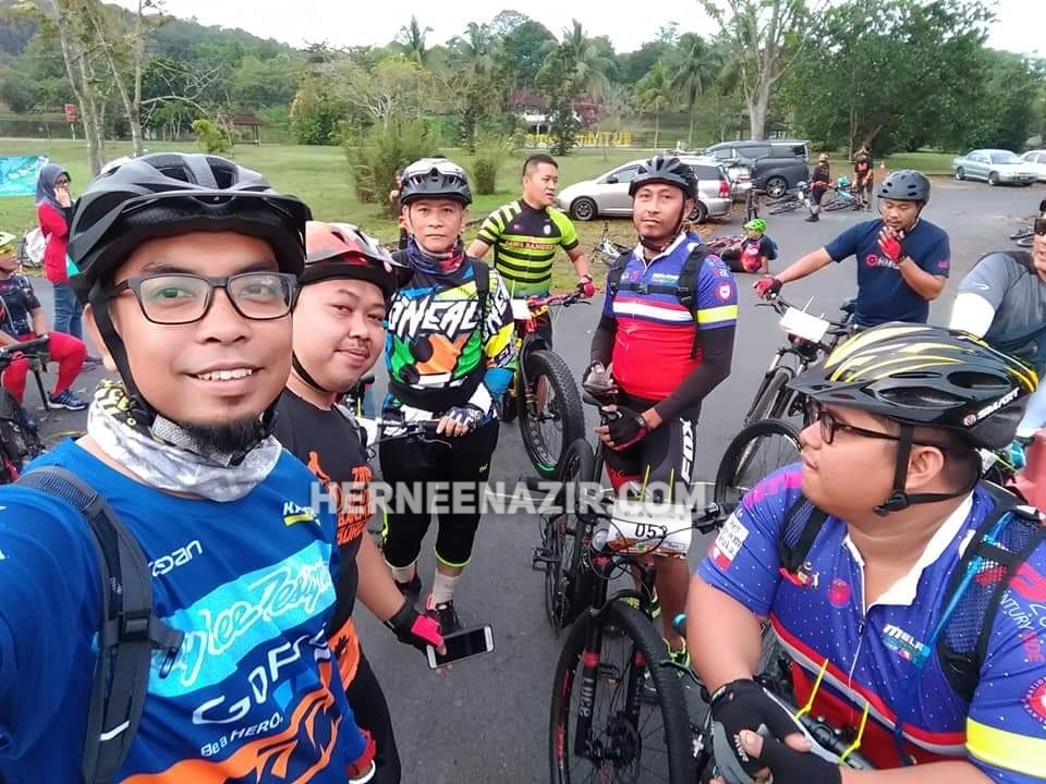 Babah at ISI-UTM Urban MTB Jamboree 2019 – 19 Jan 2019