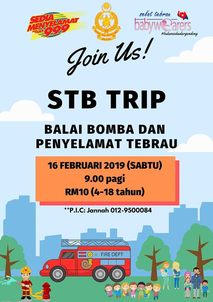 STB Trip – Balai Bomba & Penyelamat Tebrau (16 Feb 2019)