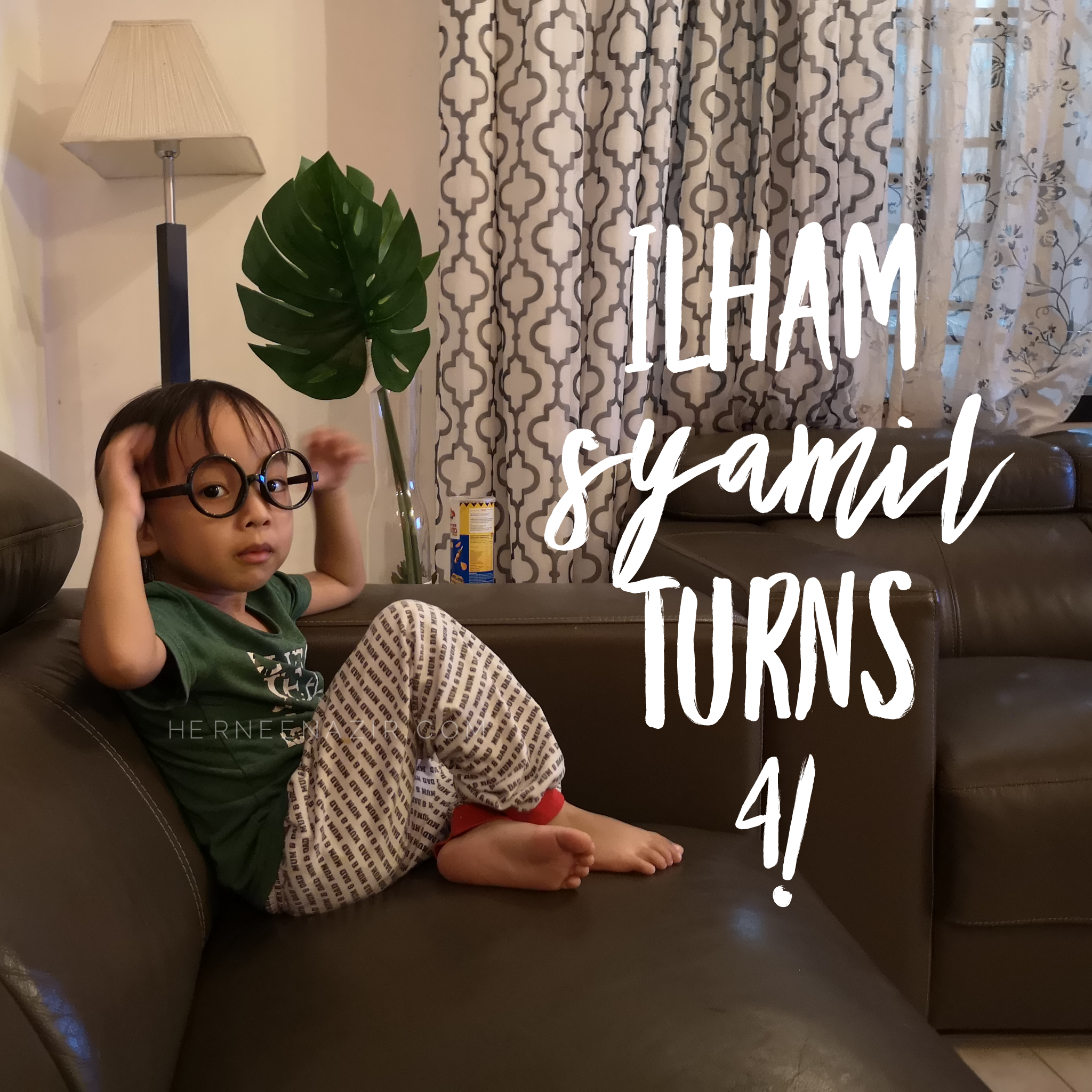 27 Jan 2019 | Ilham Syamil Turns 4!