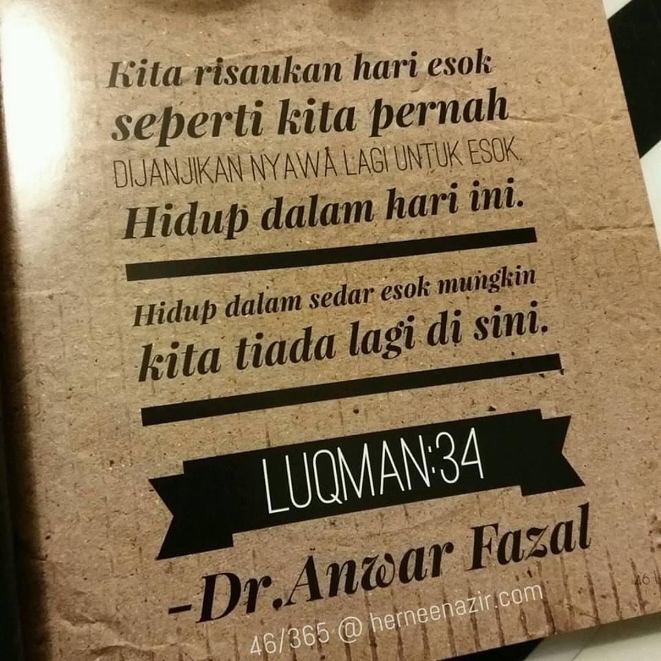 Motivasi | 46/365 by Dr. Anwar Fazal