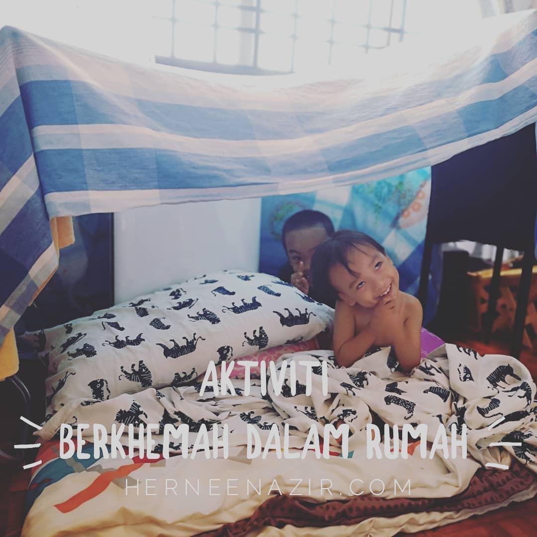 Aktiviti Berkhemah Dalam Rumah
