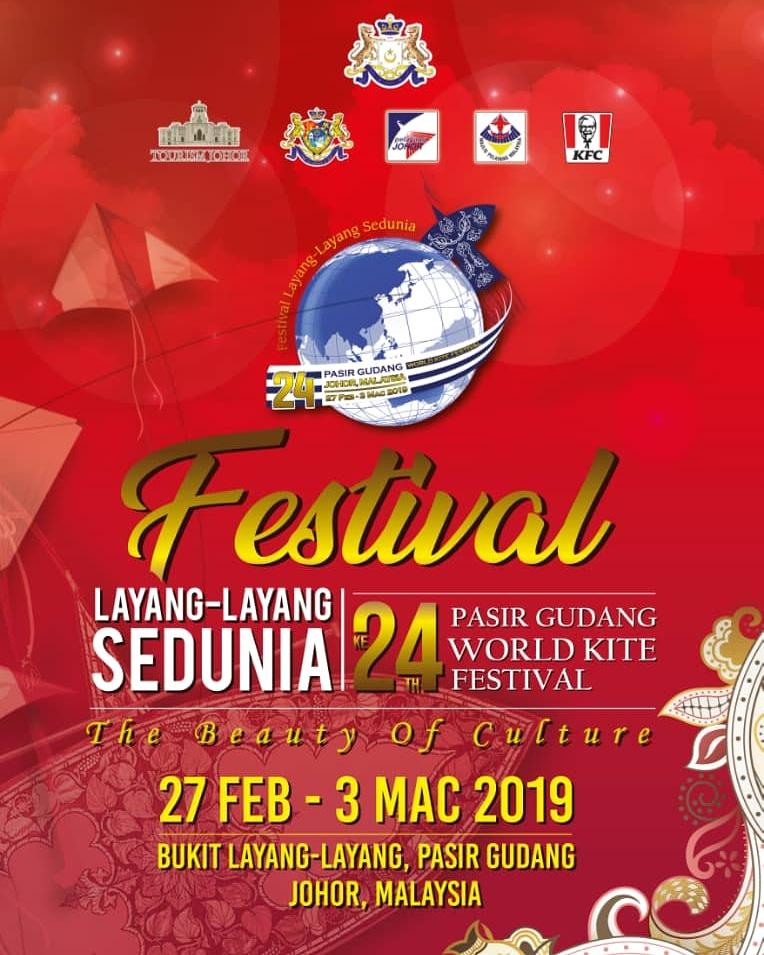 Festival Layang-layang Sedunia Ke 24 2019 | 27 Feb – 3 Mac 2019