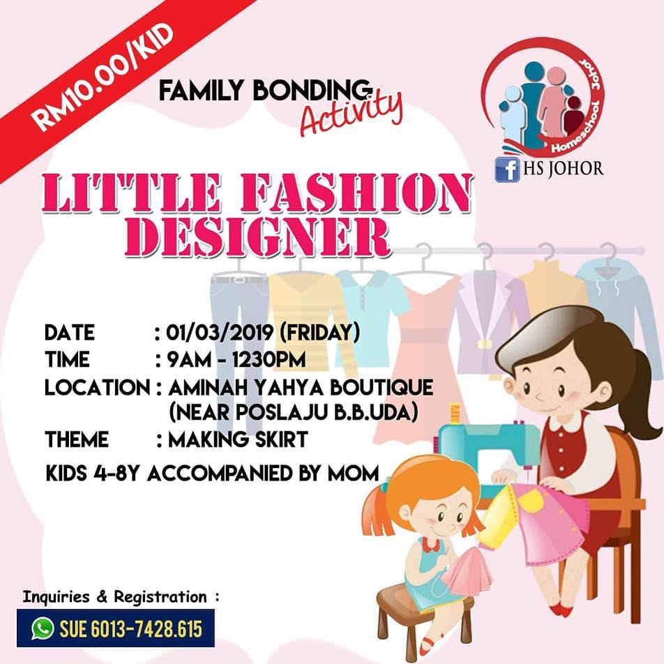 HS Johor | Little Fashion Designer (1 March 2019)