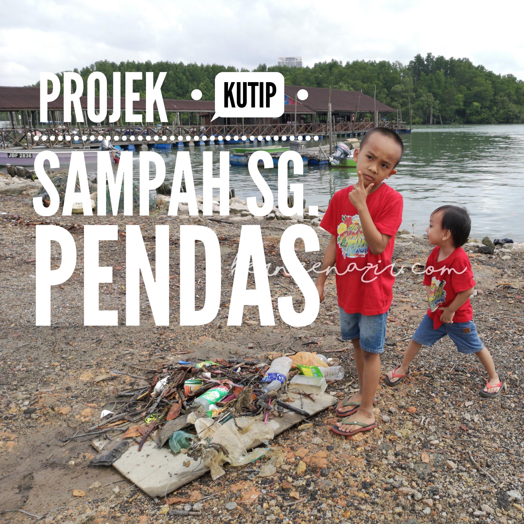 Projek Kutip Sampah Sungai Pendas
