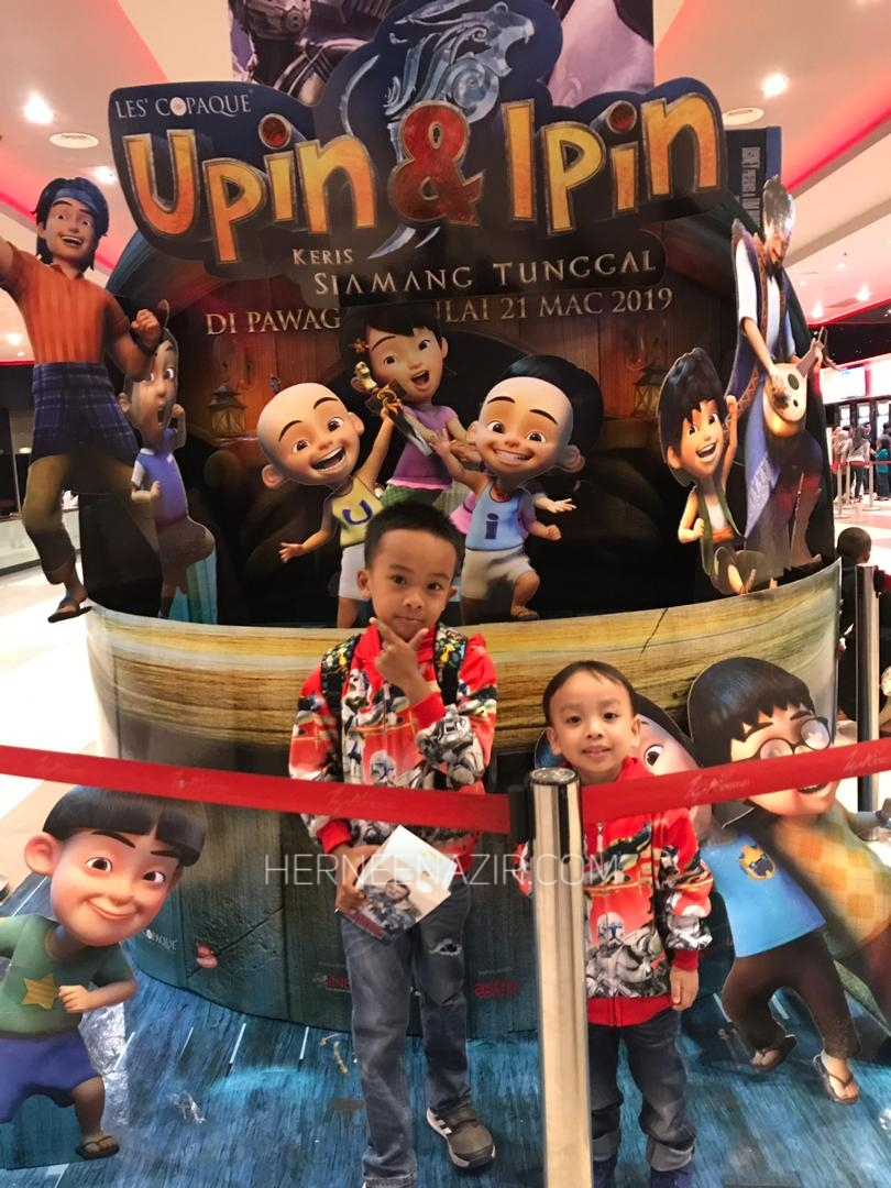 The Ilham's Movie Time! Upin & Ipin Keris Siamang Tunggal