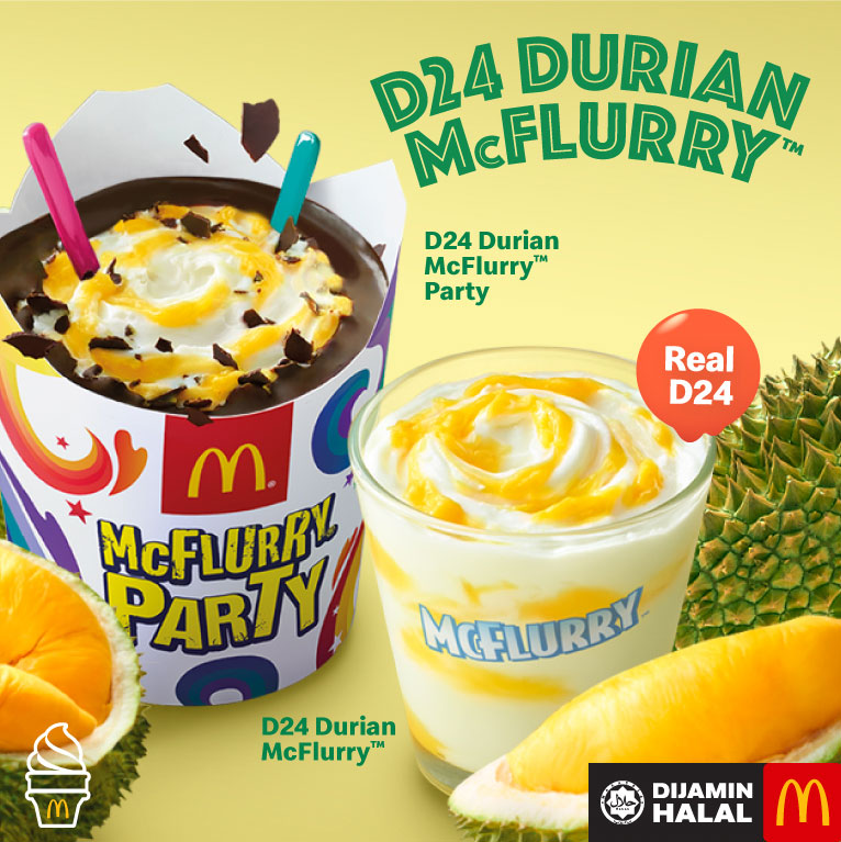 D24 Durian McFlurry is Back!