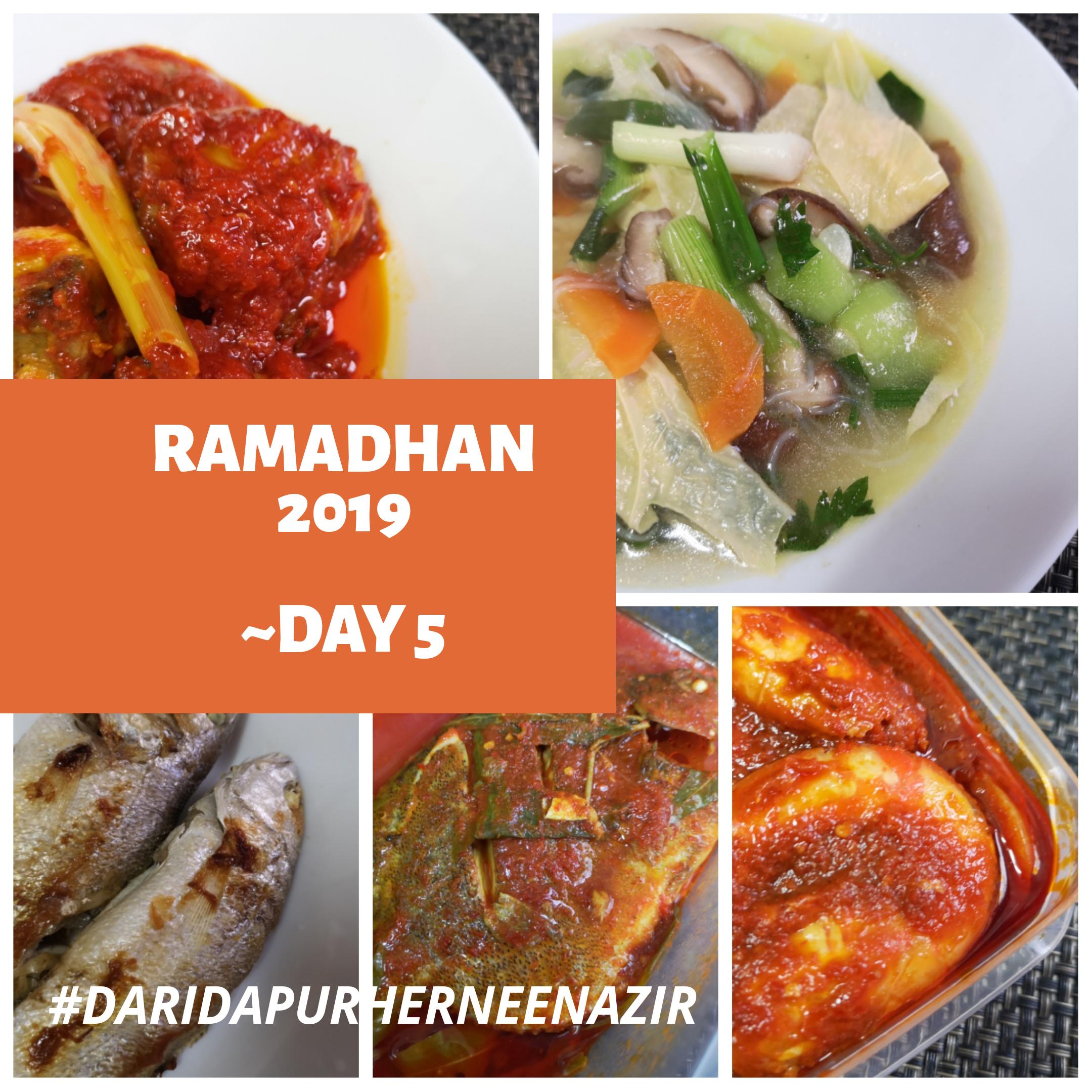 Ramadhan 2019 – Day 5