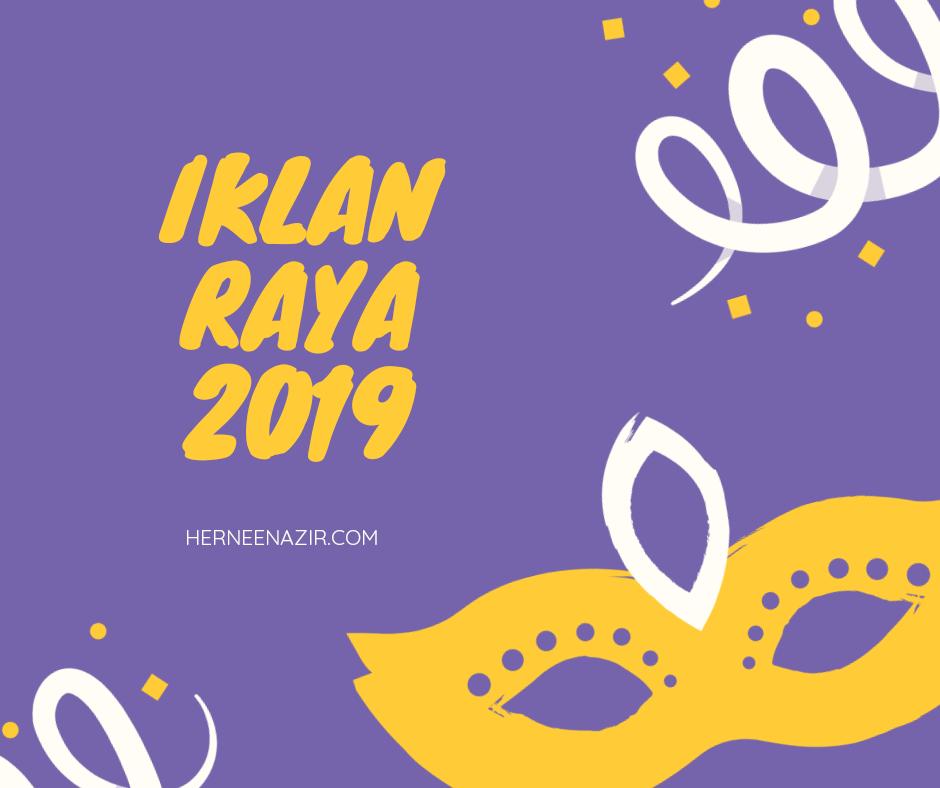 Iklan Raya 2019
