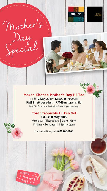 Mother's Day Special at DoubleTree by Hilton Johor Bahru